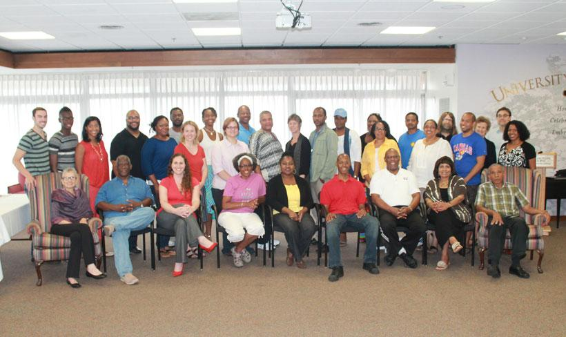 "2013 NEH-funded ""Don't Deny My Voice"" Summer Institute Participants and Staff"