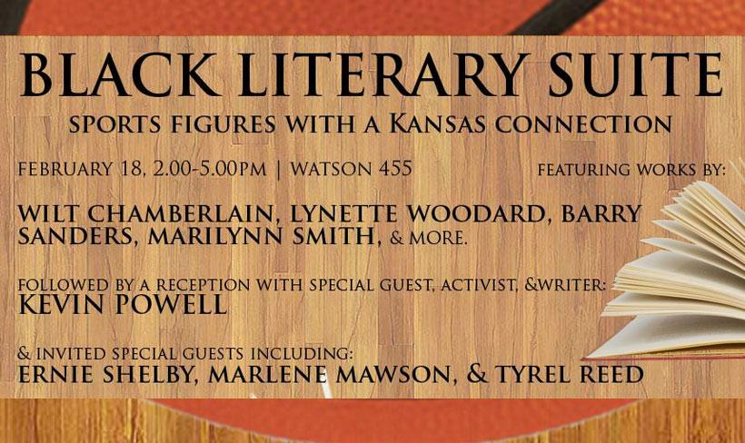 Black Literary Suite, Sports Figures with a Kansas Connection