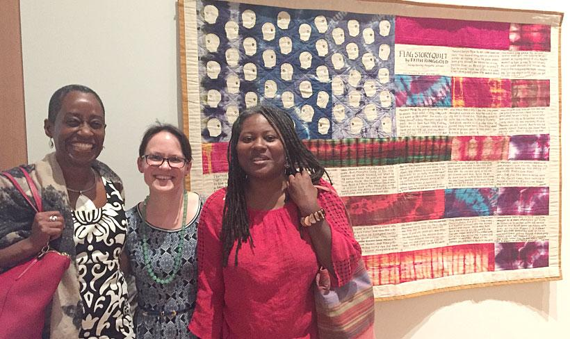 African American Quilt exhibit at Spencer Museum of Art