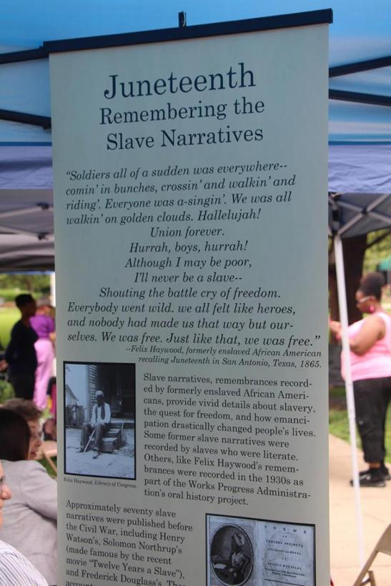 Juneteenth program