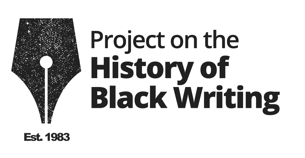 The Project on the History of Black Writing | The Project on the History of Black  Writing